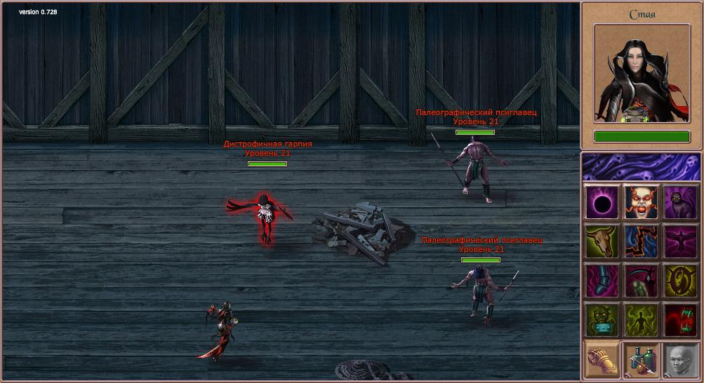 OverKings онлайн игра браузерная бесплатная MMORPG
